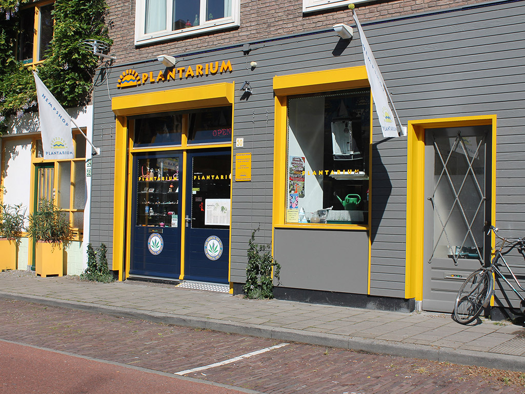 De gevel van het Plantarium te Nijmegen.